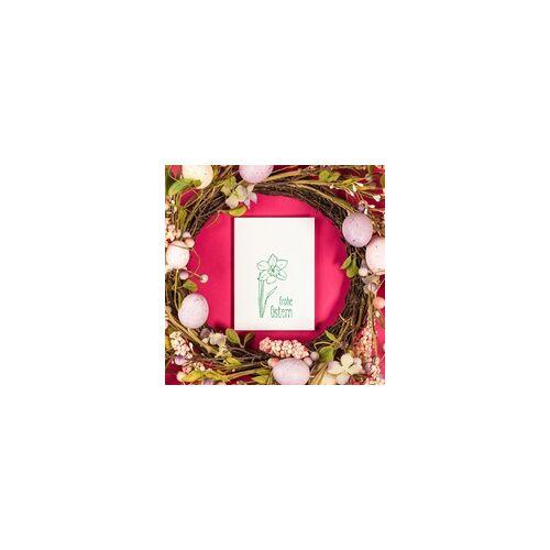 stempel-fabrik.de Ostern Holzstempel - Lustiges Eiersuchen (40x30 mm)
