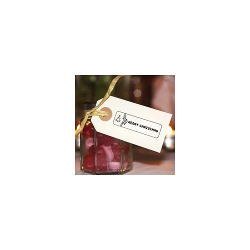 stempel-fabrik.de Weihnachten Holzstempel - Weihnachtsbaum (70x20 mm)