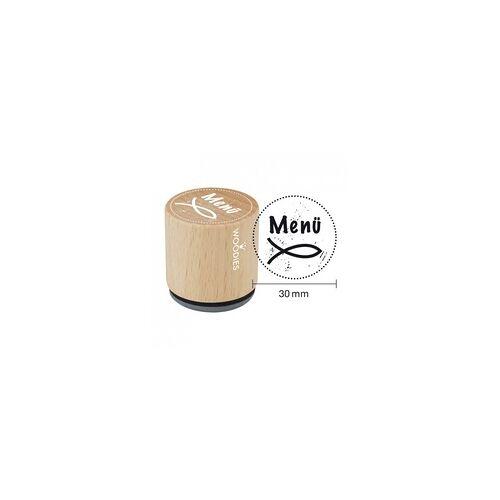 COLOP Arts & Crafts Woodies Stempel - Christlicher Fisch - Menü W14004