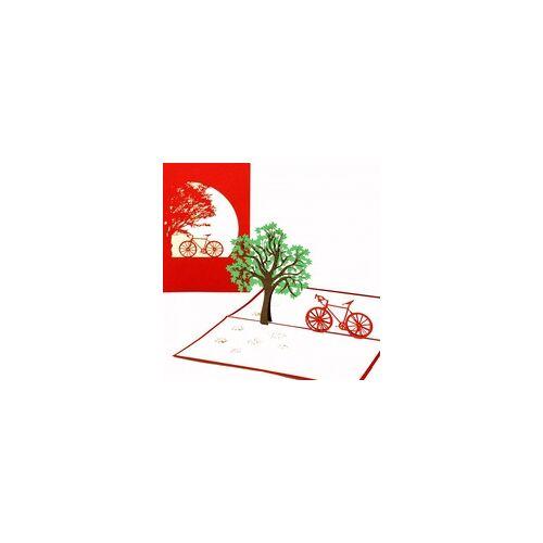 Colognecards Pop-Up Karte Fahrradtour