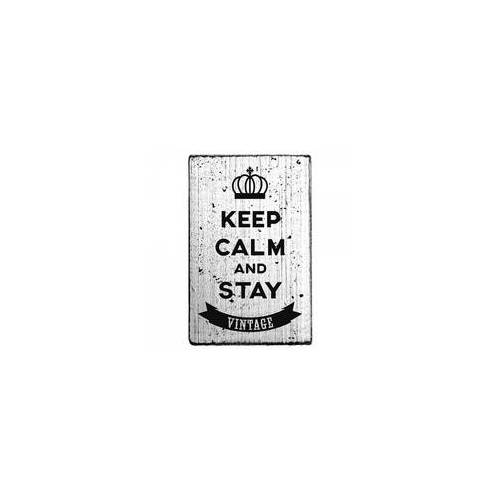 "RoyalPosthumus Vintage Stempel ""Keep calm and stay vintage"""