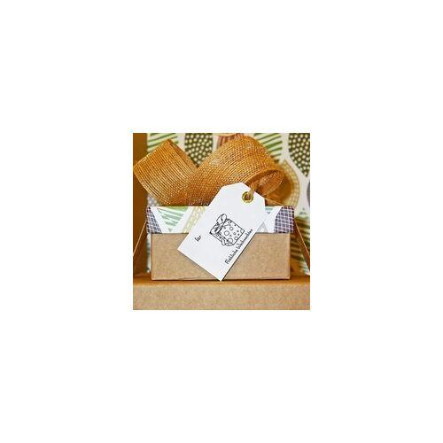 stempel-fabrik.de Weihnachten Holzstempel - Geschenk (50x50 mm)