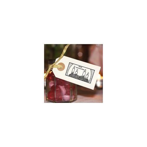 stempel-fabrik.de Weihnachten Holzstempel - Kerzen (60x30 mm)