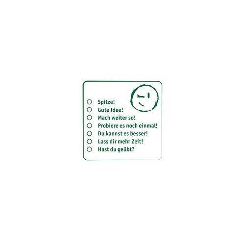 stempel-fabrik.de Pädagogik Holzstempel - Smiley Auswahl(50x50mm)