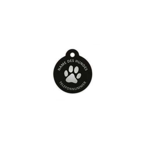 Innograv Group Hundemarke rund (Gravurmaß Ø 23 mm)