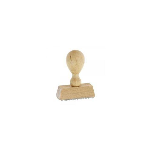 DECOR Adressstempel Holzstempel (50x20 mm - 4 Zeilen)