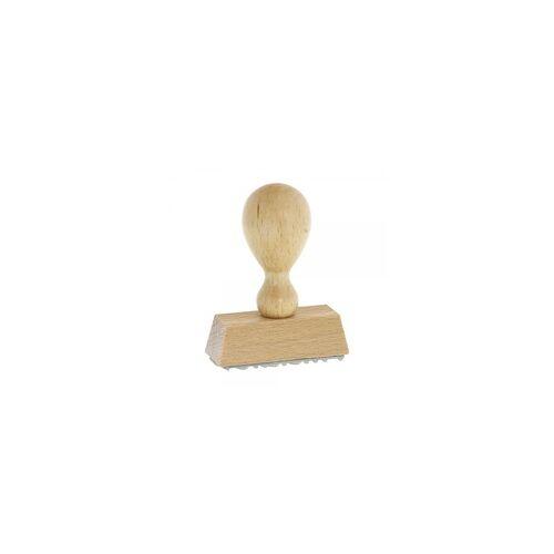 DECOR Holzstempel Unterschriftenstempel - Faksimilestempel (50x20 mm)