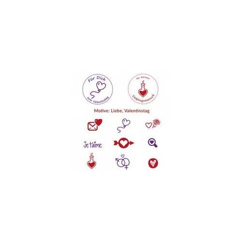 stempel-fabrik.de Valentinstagsstempel (Ø 40 mm)