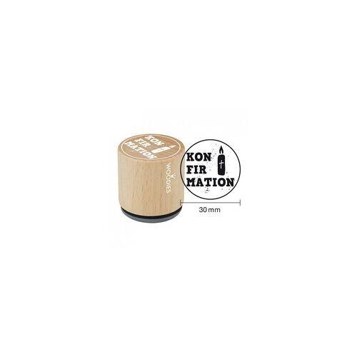 COLOP Arts & Crafts Woodies Stempel - Konfirmation