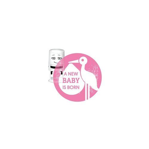 COLOP Arts & Crafts NIO Stempelmotiv - a new baby is born