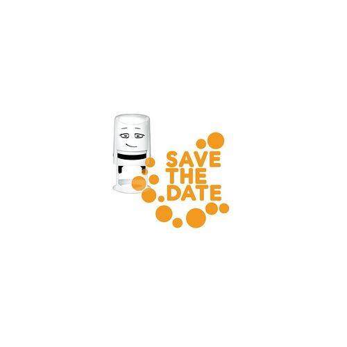 COLOP Arts & Crafts NIO Stempelmotiv - save the date-dots