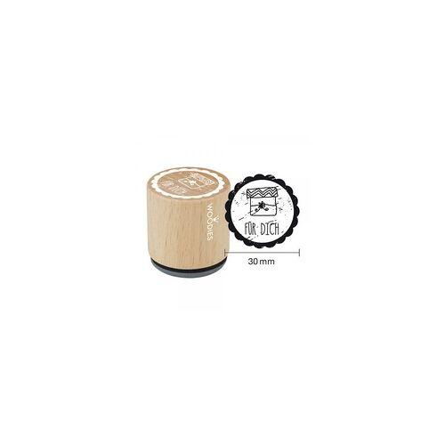 COLOP Arts & Crafts Woodies Stempel - Für Dich Motiv 2 W01005