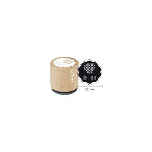COLOP Arts & Crafts Woodies Stempel - Für Dich Motiv 1 W04004