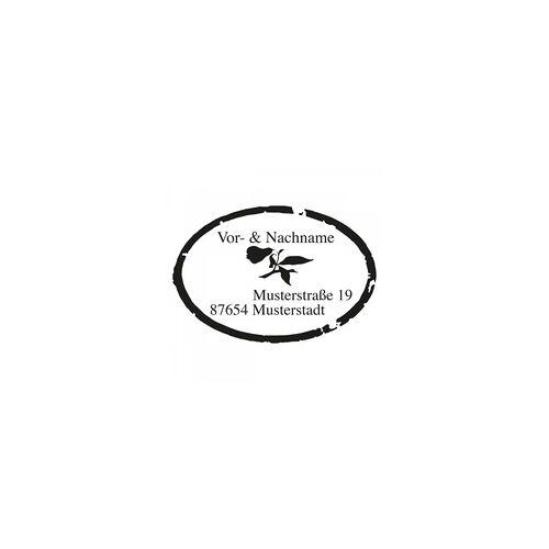 Trodat Monogrammstempel - Ovaler Rahmen -Trodat 4924