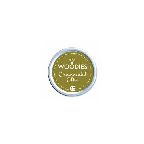 COLOP Arts & Crafts Woodies Stempelkissen - Ornamental Olive
