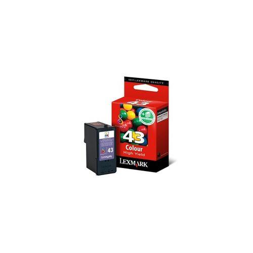 Lexmark Tintenpatrone farbig Nr.43XL Lexmark - 018YX143E