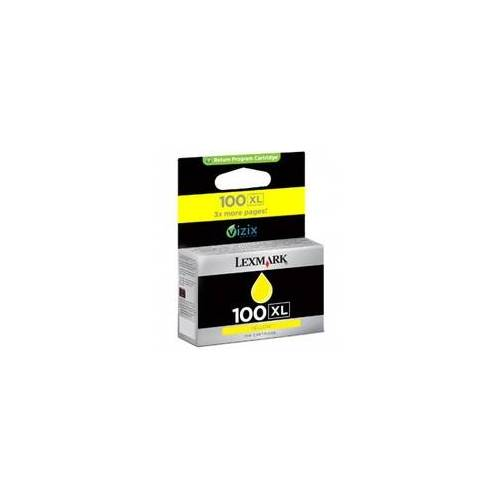 Lexmark 100XL Tintenpatrone Gelb Lexmark - 14N1071E