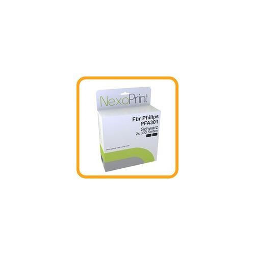NexoPrint Druckfolie Doppelpack für Philips PFA301 (2x Druckerfolie) NexoPrint - NX-PFA301