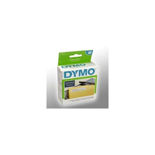 Dymo Etiketten DYMO 11352  weiss  25 x 54mm  1 x 500 St.