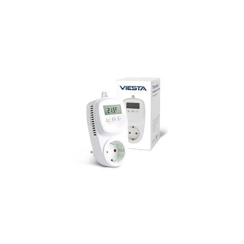 Viesta TH10 Thermostat Thermostatstecker Steckdosenthermostat für Infrarotheizung Heizpaneele Heizung