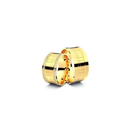 Trauringe Bruchsal 585er Gelbgold - 8824
