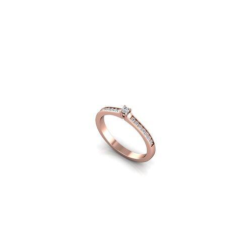 ASF-Trauringe Verlobungsring VR05 333er Rotgold - 7155