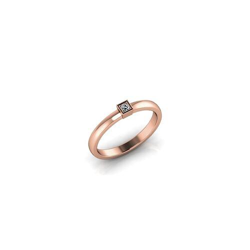 ASF-Trauringe Verlobungsring VR06 585er Rotgold - 7192
