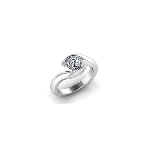Verlobungsring VR03 585er Weissgold - 3744