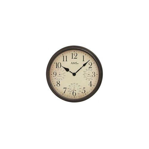 AMS -Quartz-Wanduhr 42cm- 9463