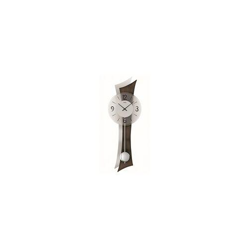 AMS -Quartz-Pendeluhr 70cm Nussbaum- 7425/1
