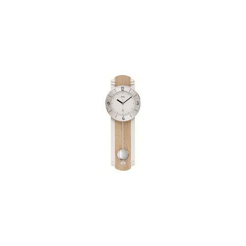AMS -Funkuhr Holzdekor 60cm- 5291