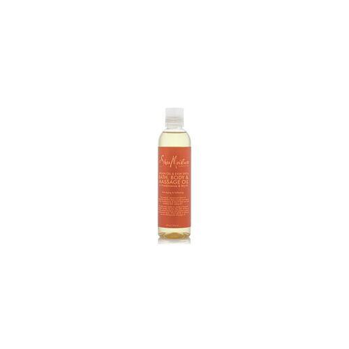 Shea Moisture Argan Oil & Raw Shea Bath, Body & Massage Oil 8oz 236ml Bade-, Körper- und Massageöl
