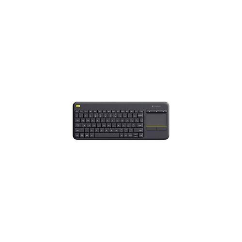 Logitech Wireless Touch Keyboard K400 Plus (grau)