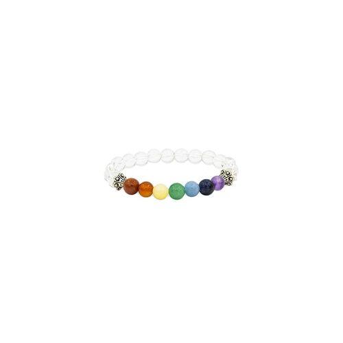 YOGISAN Mala Armband Chakra Bergkristall