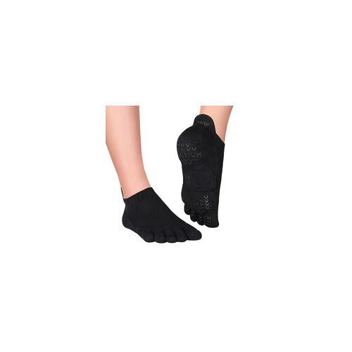 Knitido Zehensocken für Yoga und Pilates Pilates Socken ABS Sora Grey, 39-42