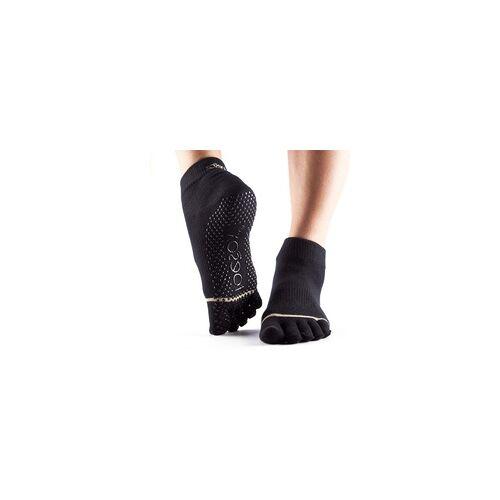 YOGISAN Yoga Socken Söckchen - Zehensocken mit Noppen Söckchen, L
