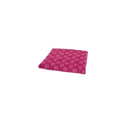 YOGISAN Meditationsmatte Zabuton Design Black, ca. 80 x 80 x 5 cm