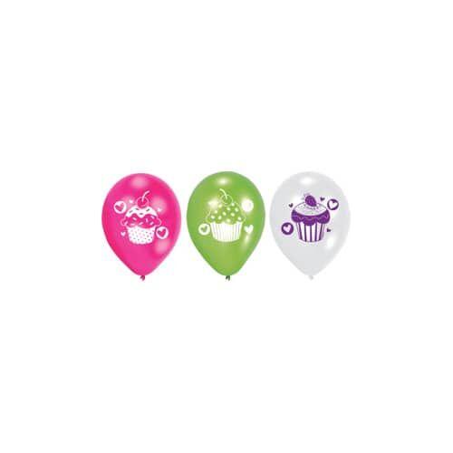 CUPCAKE Luftballon 6ST CUPCAKE 997337