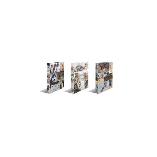HERMA Ringbuch A4/4R/25mm Hunde
