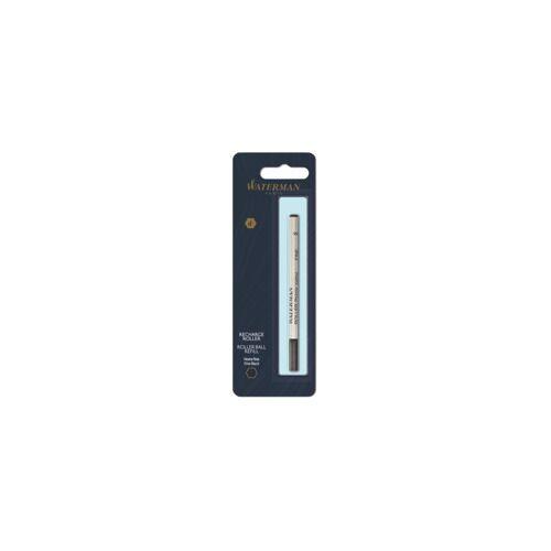 WATERMAN Tintenrollermine F schwarz WATERMAN S0112670