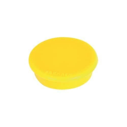 FRANKEN Magnet 10ST gelb FRANKEN HM10 04   D13 mm