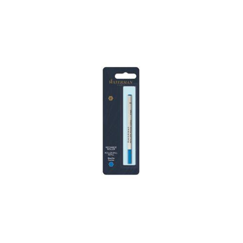 WATERMAN Tintenrollermine F blau WATERMAN S0112680