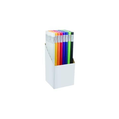 Packpapierrolle 70g 68cmx3m fbg.sort.