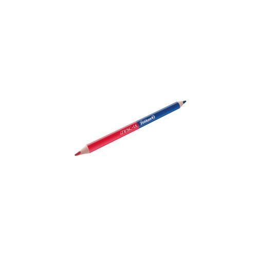 Pelikan Silbentrennstift rot/blau dick