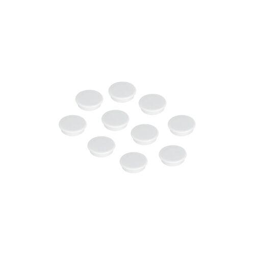 FRANKEN Magnet 10ST weiß FRANKEN HM10 09   D13 mm