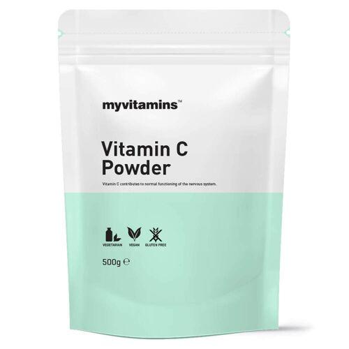 Myvitamins Vitamin C Pulver
