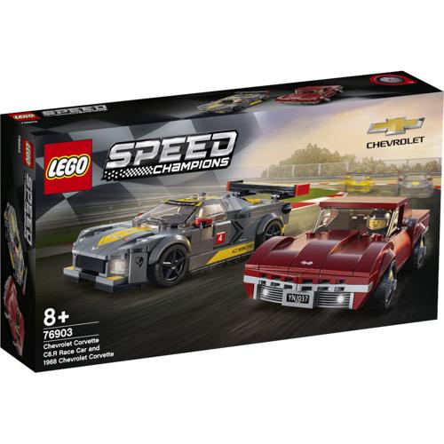 LEGO 76903 - Chevrolet Corvette C8.R & 1968 Chevrolet Corvette