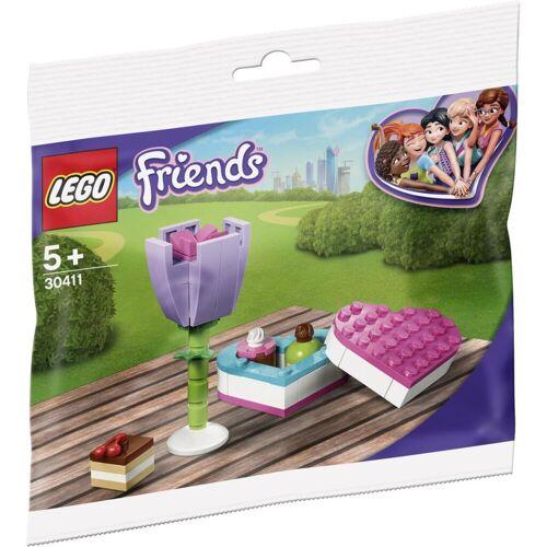 Lego 30411 - Polybag LEGO Friends - 30411 - Pralinenschachtel & Blume