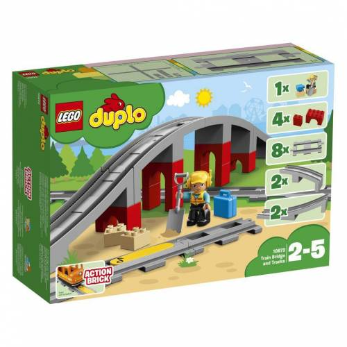 LEGO 10872 - Eisenbahnbrücke und Schienen