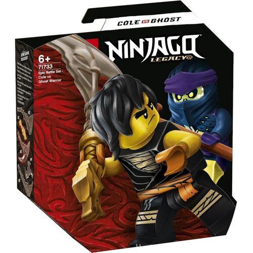 LEGO 71733 - Battle Set: Cole vs. Geisterkämpfer